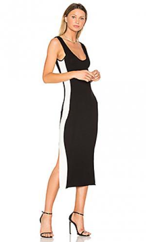 Спортивное платье tegan Clayton. Цвет: black & white