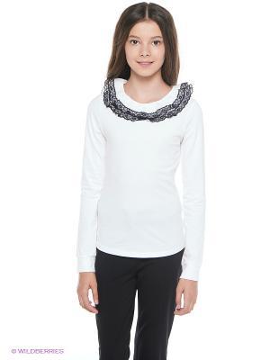 Блузка Nota Bene. Цвет: белый