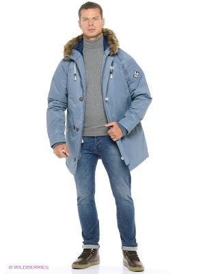 Куртка VANS. Цвет: голубой