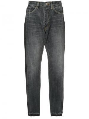 Зауженные джинсы Astraet. Цвет: чёрный