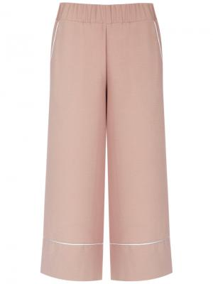 Wide leg cropped trousers Olympiah. Цвет: none