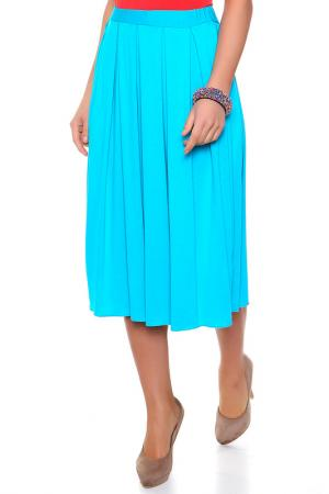 Юбка Milana Style. Цвет: бирюзовый