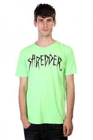 Футболка  Shredder Nlm Lost. Цвет: зеленый