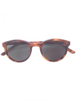 Солнцезащитные очки Bubs YMC. Цвет: коричневый