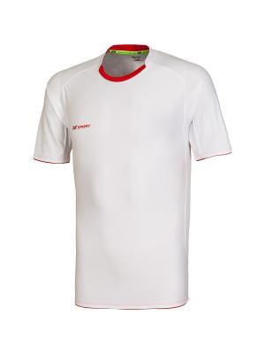 Футболка игровая Champion II 2K. Цвет: белый, красный
