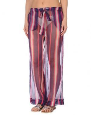 Пляжные брюки и шорты SEKLI. Цвет: темно-синий