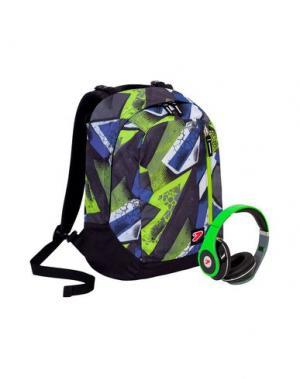Рюкзаки и сумки на пояс SEVEN. Цвет: кислотно-зеленый