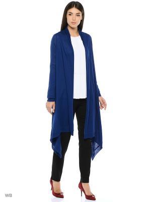 Кардиган DKNY. Цвет: синий