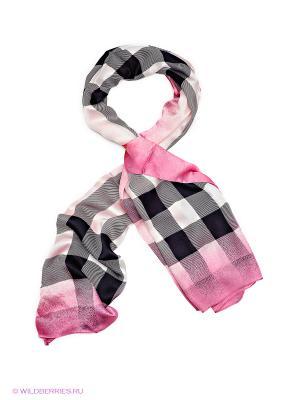 Платок Sabellino. Цвет: розовый, белый, черный, темно-серый, красный