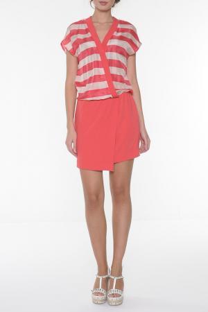 Платье Ki6. Цвет: красный