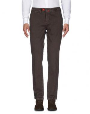 Повседневные брюки BARONI. Цвет: какао