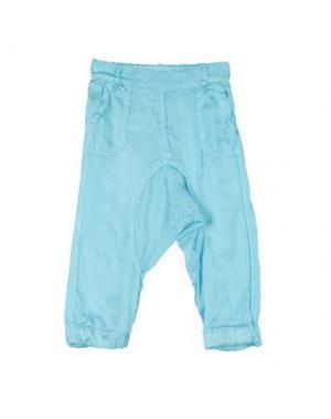 Повседневные брюки LES PARROTINES. Цвет: небесно-голубой