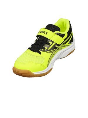 Кроссовки  UPCOURT 2 PS ASICS. Цвет: желтый, серый, черный