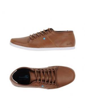 Низкие кеды и кроссовки BOXFRESH. Цвет: коричневый