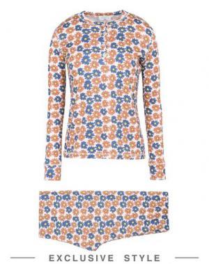 Пижама MARGHERITA EXCLUSIVELY for YOOX. Цвет: оранжевый