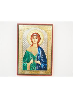 Именная икона Вера Bethlehem Star. Цвет: коричневый