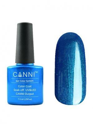 Гель лак №194 CANNI. Цвет: синий