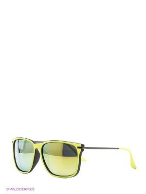 Солнцезащитные очки Vittorio Richi. Цвет: салатовый