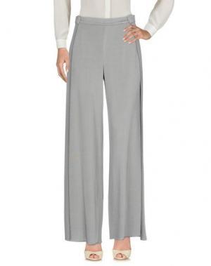 Повседневные брюки ES'TI. Цвет: серый