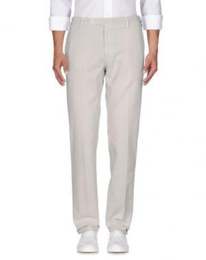 Джинсовые брюки ROTASPORT. Цвет: светло-серый
