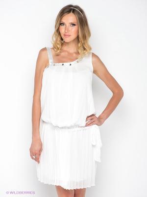 Платье Gemko. Цвет: белый