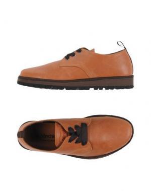 Обувь на шнурках PÀNCHIC. Цвет: желто-коричневый