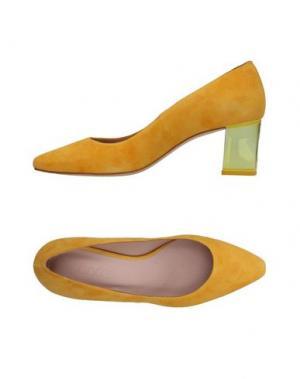 Туфли ANCARANI. Цвет: желтый