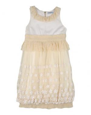 Платье MIMISOL. Цвет: слоновая кость