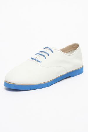 Ботинки Ballerina. Цвет: белый