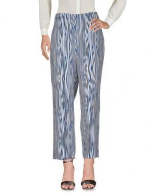 Повседневные брюки NICE THINGS by PALOMA S.. Цвет: цвет морской волны