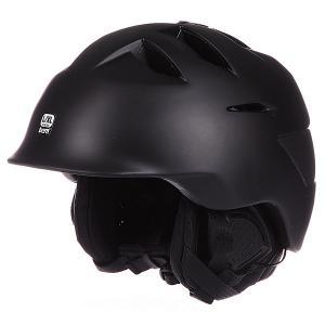 Шлем для сноуборда  Kingston Matte Black W/ Liner Bern. Цвет: черный