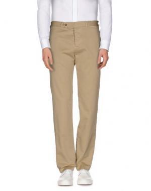 Повседневные брюки ALAIN FRACASSÍ. Цвет: бежевый
