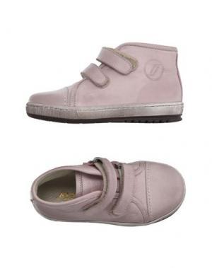 Высокие кеды и кроссовки JARRETT. Цвет: светло-розовый