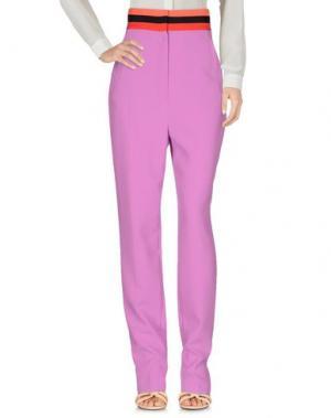 Повседневные брюки ROKSANDA. Цвет: розовато-лиловый