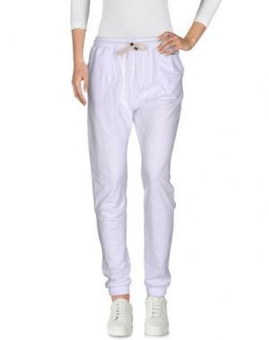 Повседневные брюки SHOESHINE. Цвет: белый