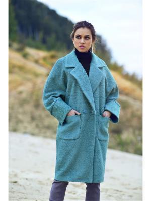 Пальто Bezko. Цвет: зеленый