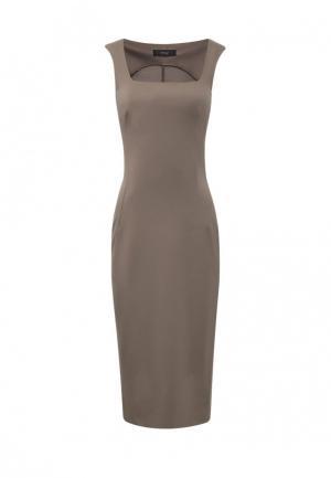 Платье 9AConcept. Цвет: хаки