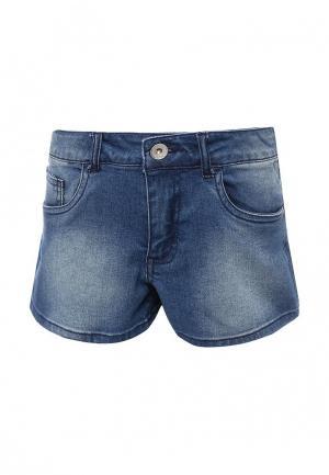 Шорты джинсовые Guess. Цвет: синий