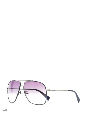 Солнцезащитные очки BLD 1636 404 Baldinini. Цвет: черный, серебристый