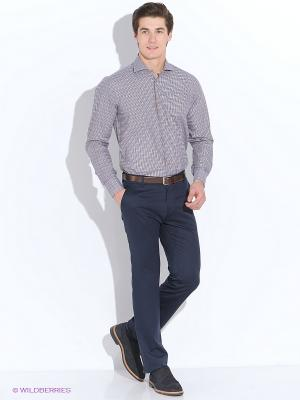 Рубашка Maurizio Baldassari. Цвет: серый, оранжевый, хаки