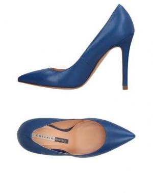 Туфли CHIARINI BOLOGNA. Цвет: ярко-синий