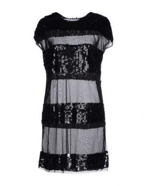 Короткое платье CABAN ROMANTIC. Цвет: черный