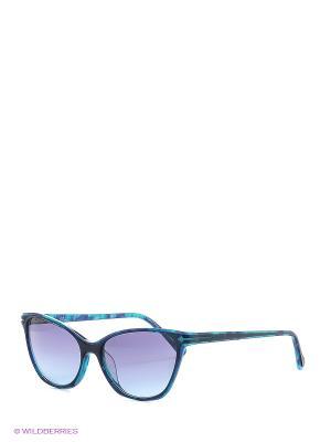 Солнцезащитные очки TM 037S 06 Opposit. Цвет: голубой