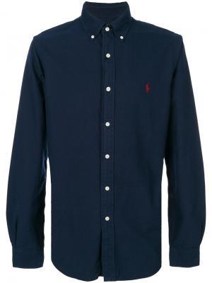 Джинсовая рубашка Ralph Lauren. Цвет: синий