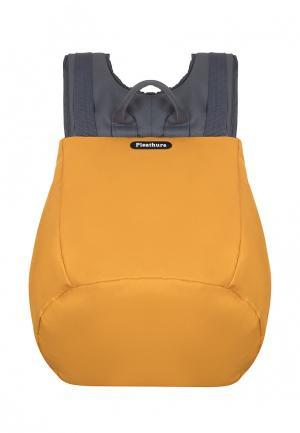 Рюкзак Pleathure. Цвет: желтый