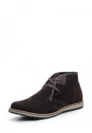 Ботинки Happy Family. Цвет: коричневый