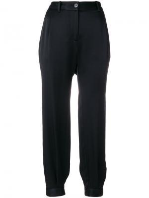 Укороченные брюки Nili Lotan. Цвет: чёрный