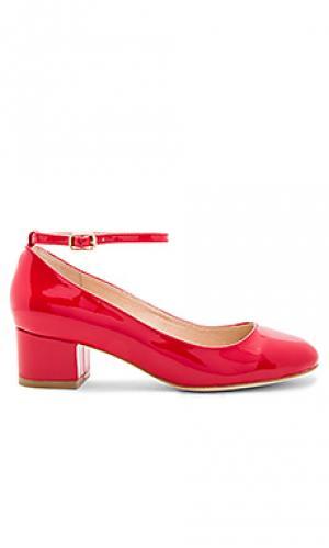 Туфли лодочки reina RAYE. Цвет: красный
