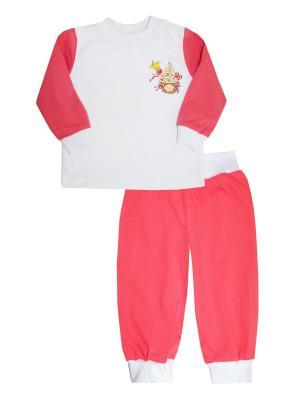 Пижама КОТМАРКОТ. Цвет: розовый,белый