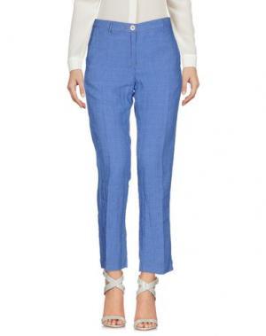 Повседневные брюки MASSIMO ALBA. Цвет: лазурный